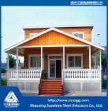 Casa prefabricada del chalet de la instalación fácil de China