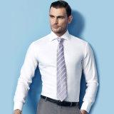 Het recentste Katoenen van het Ontwerp Witte Overhemd van de Mens