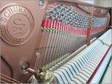 Schumann (K1) 122 preto piano vertical Instrumentos musicais