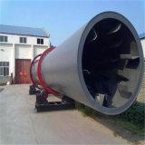 Séchoir à tambour rotatif industriel pour poudre minérale/argile/du charbon et de sable