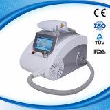 レーザーの美装置携帯用Qによって切替えられるND YAGレーザーの入れ墨の取り外し機械