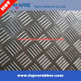 3mm grauer Gleitschutzgummifußboden verwendet für Door&Walkways