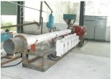 プラスチック押出機のためのセグメント化された電気誘導電気加熱炉