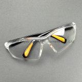 Lentille transparente des lunettes de sécurité avec pattes réglables (SG111)