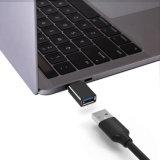 Type-c 2017 à l'aluminium d'adaptateur d'USB 3.0 pour la galaxie S8 de Samsung
