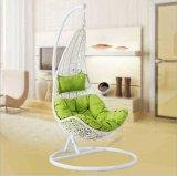 Cadeira de balanço em forma de roattan Cadeira de suspensão em forma de toucinho de vime (D018)