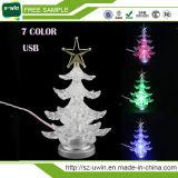Mozzo chiaro libero del USB dell'albero di Natale del campione LED