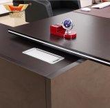Escritorio de oficina moderno de los muebles de oficinas de la protuberancia del alto grado para el escritorio del encargado