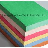 papel de tampa colorido da grão do couro 140-350GSM gravado