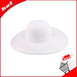 Chapéu de papel do disco flexível do verão de Sun da palha