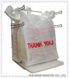 De plastic HDPE Douane Afgedrukte Zak van het Hemd van de Zak van de T-shirt