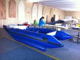 Liya 3m4.3m Boot van de Snelheid van de Boot van het Werk van de Catamaran de Opblaasbare