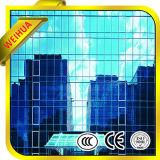 Baixo-e vidro isolado Tempered matizado reflexivo para o indicador do edifício