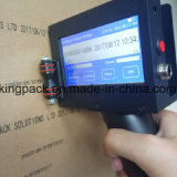 Printer Van uitstekende kwaliteit van Inkjet van de Machine van de Codage van het Aantal van de snelheid de Digitale Handbediende Handbediende