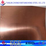 Zirkonium-Bronzen-Kupfer-Blatt des Chrom-C18200 für leitendes kupfernes Blatt-auf Lager