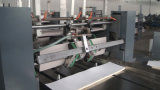 Impression de papier et froid à grande vitesse de Flexo de bobine collant la chaîne de production obligatoire de cahier d'agenda d'élève de livre d'exercice