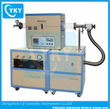 1200c Tube MCV four avec système de vide élevé et l'eau du circuit de refroidissement