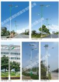 Lâmpada de rua solar LED de alta qualidade, iluminação rodoviária 15W-160W
