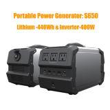 Sistema di generatore solare portatile della batteria di litio 110V/220V/230V/240V