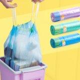 Pedido feito sob encomenda plástico de saco de Drawstring do lixo do uso industrial