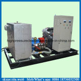 Equipo industrial de alta presión de la limpieza del tubo de agua de la arandela del arenador del tubo