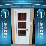Алюминиевая дверь ванной комнаты с 1/3 или половинная или завершенная алюминиевая панель