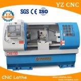 CNC de giro de alta velocidade do torno que faz à máquina o torno de giro automático