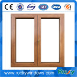 適正価格PVC Windowsとの木製の穀物カラーデザイン