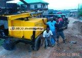 堅い石造りボーリングのためのDfq-200WのトレーラーDTH水鋭い機械