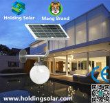 Luces solares ahorros de energía patentadas del diseño con el sensor de microonda