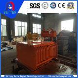 Rcdfの自動クリーニング式電気磁気鉄の分離器か中断タイプ鉱山の分離器はのための不用な鉄を除去する