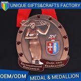 方法様式3Dの記念品はダイカストの堅いエナメルメダルを