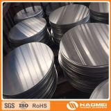 Runde Aluminiumplatte (für Lichter)