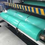 Película resistente UV do envoltório da ensilagem do verde 750mm/película de estiramento agricultural/película do envoltório bala de feno