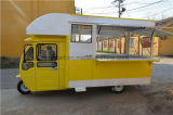 移動式台所、適用範囲が広い電気三輪車の食糧車、食堂車、食堂車