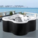 Monalisaの花の形新しいデザインセクシーな鉱泉の温水浴槽(M-3353)