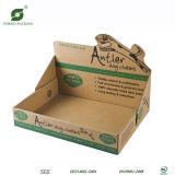 Коробка индикации картона Kraft печатание Litho для сбывания