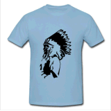 T-shirt impresso de moda para homens (M262)