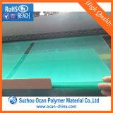 Покрашенный выбитый прозрачный лист PVC твердый для связывая крышки