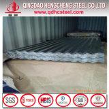 SGCC Dx52D Caliente DIP Zinc chapa de hierro corrugado