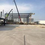 Gruppo di lavoro d'acciaio modulare della struttura d'acciaio del magazzino di progetto del peperoncino rosso