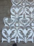 بيضاء ورماديّة رخاميّة أرنب فسيفساء فنّ