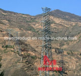 110kv Four Circuit Angle Transmission Tower