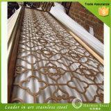 2016 Pantalla vendedor caliente de acero inoxidable personalizada Ventana para la decoración del hogar