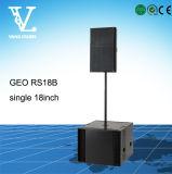 Baß Vilder der Audiohersteller Geo-RS18b sondern '' Woofer18 VorWoofer aus
