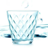 高品質のガラス製品、ガラス水コップ