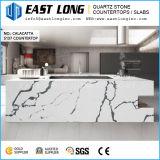 Le marbre de couleur d'un comptoir en pierre de quartz de haute qualité