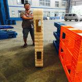 Cremagliera industriale di plastica dell'alta società di bassa potenza del pallet del magazzino di Torage di 4 modi