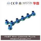 Plaque de verrouillage rapide en titane rapide (haute flexibilité)