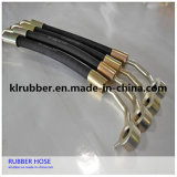 SAE J1402 Braided Flexible Truck Air Brake Hose with Fitting